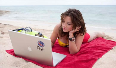 PADI elearning course
