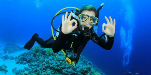 PADI Open Water diver in Cyprus